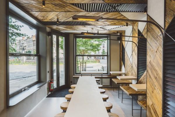 Concept, design, interieurontwerp en realisatie: Baraque Friture / true. / Robin Manso