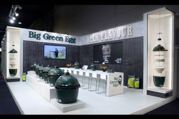 Stand voor Big Green Egg